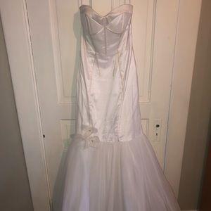 White Jovani Prom Dress